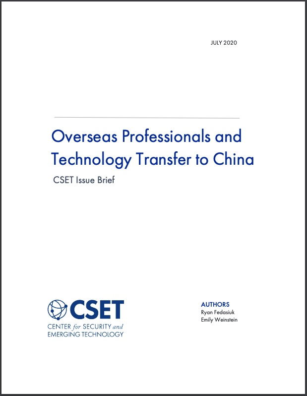 Overseas Professionals Cover