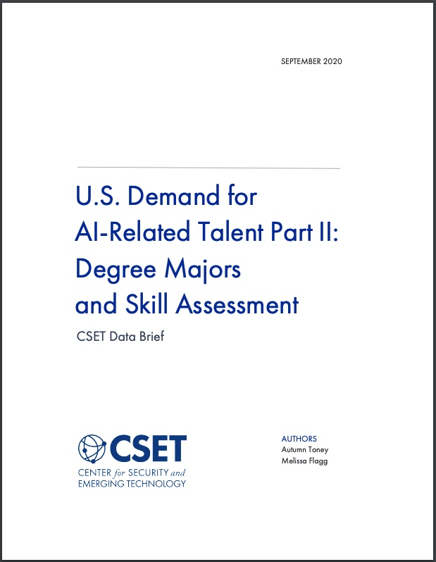 US Demand for AI Talent Part II Cover Image