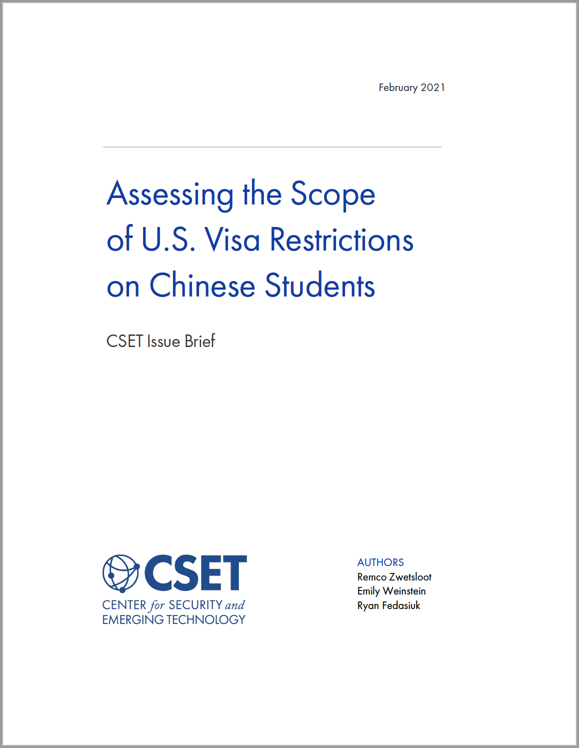 Assessing the Scope of U.S. Visa Restrictions on Chinese Students Image