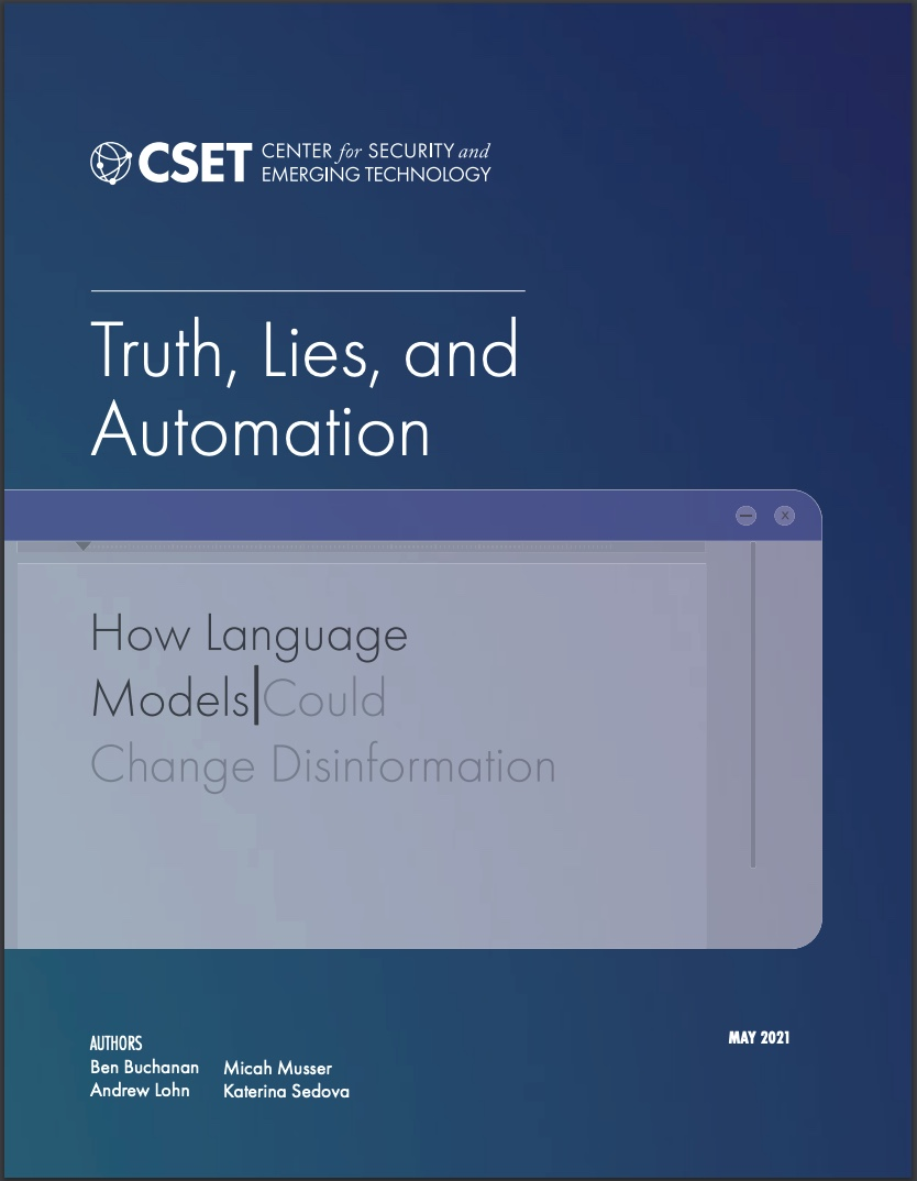 Truth, Lies, and Automation Report Cover