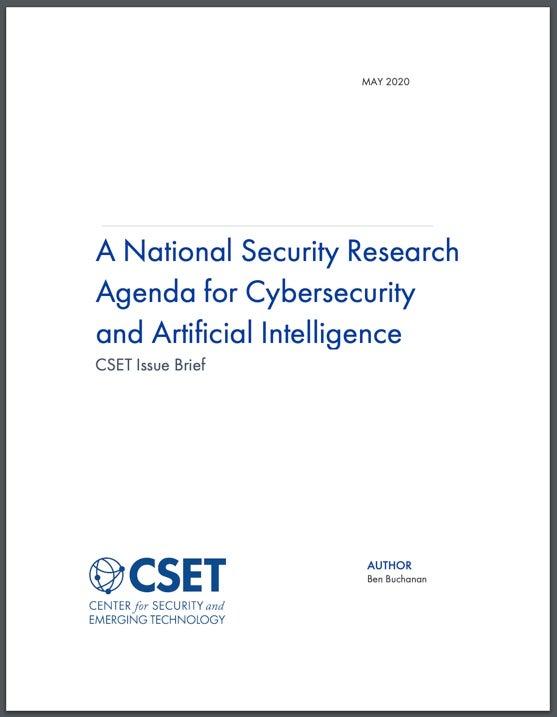 CyberAI Agenda Cover