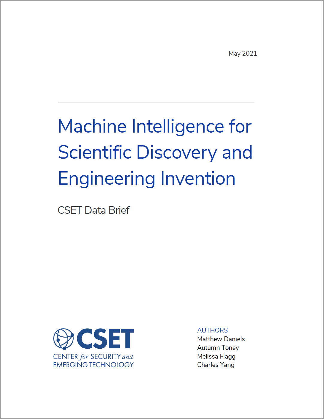 Machine Intelligence for Scientific Discovery and Engineering Invention_Image
