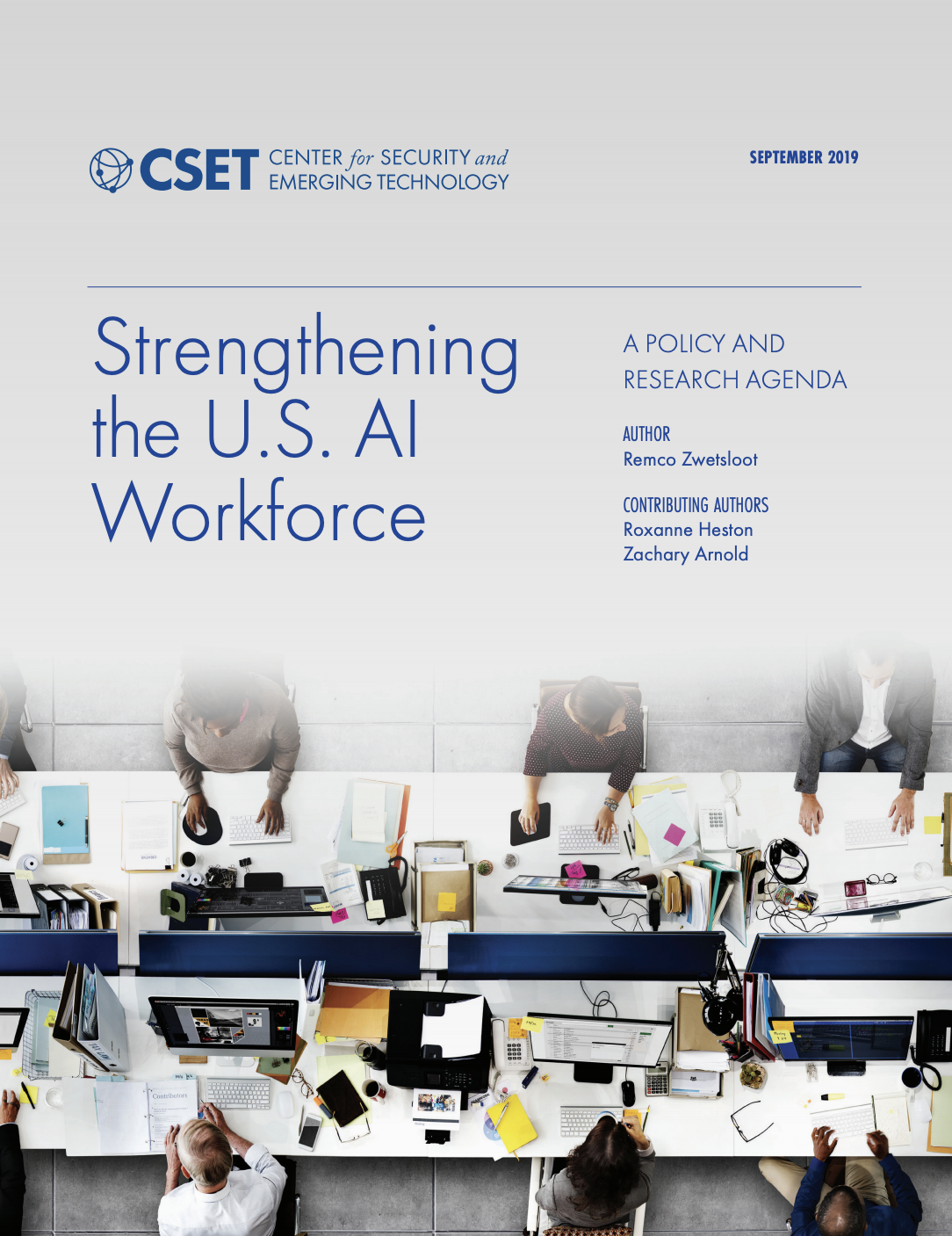 Cover of CSET AI Workforce Report