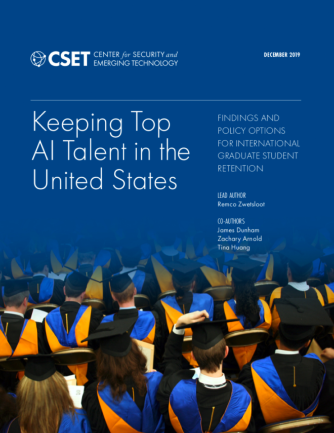Keeping Top AI Talent in the US Report Cover