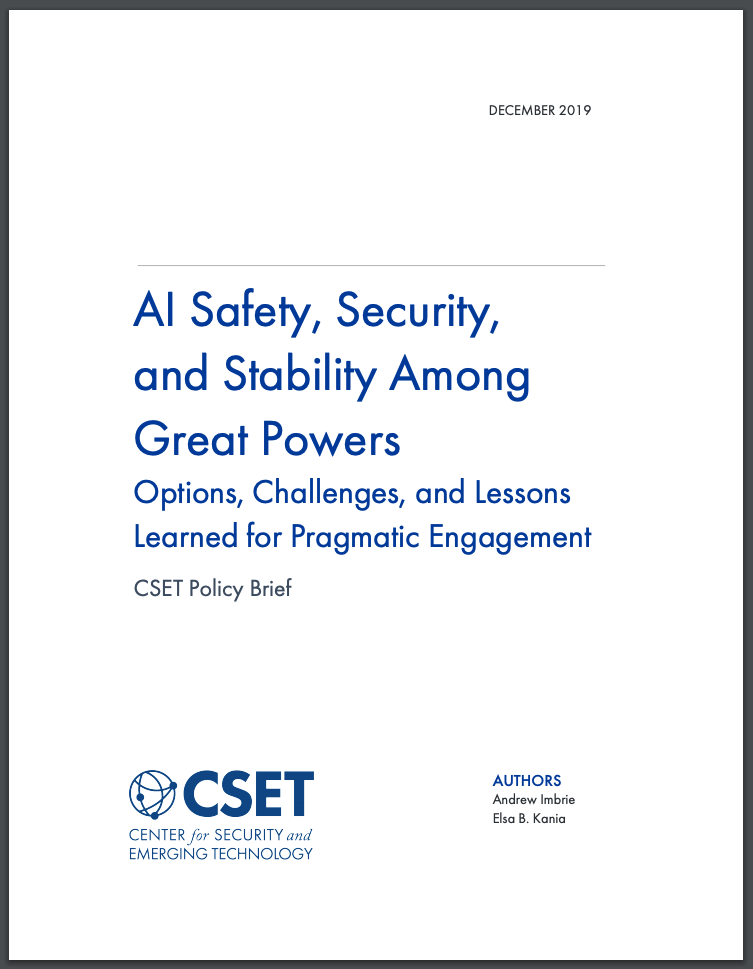 AI Safety report cover