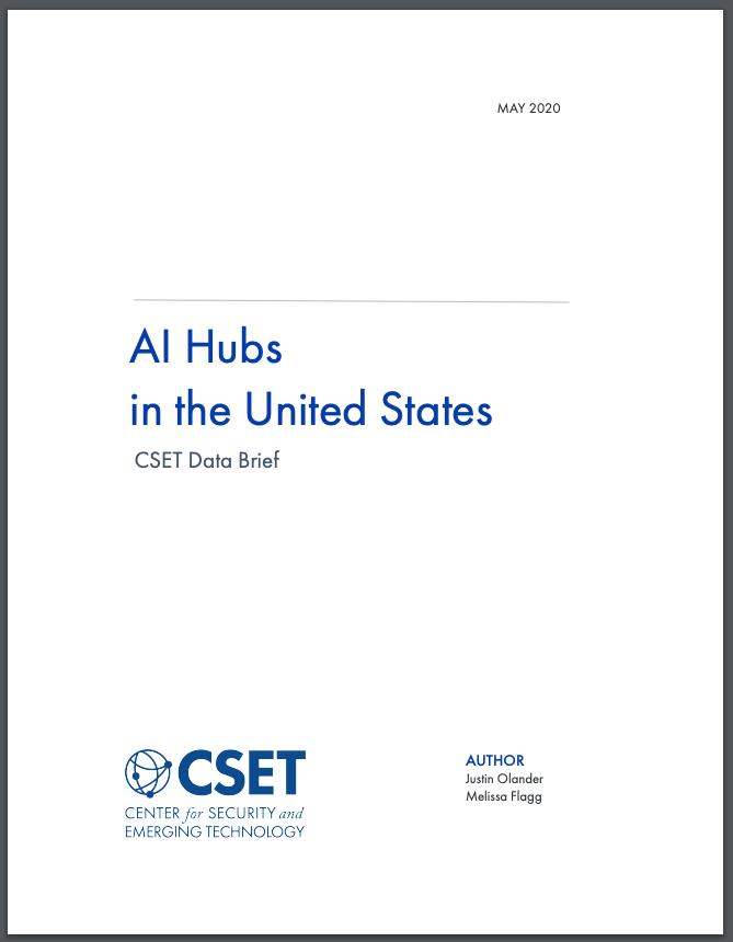 AI Hubs Data Brief Cover