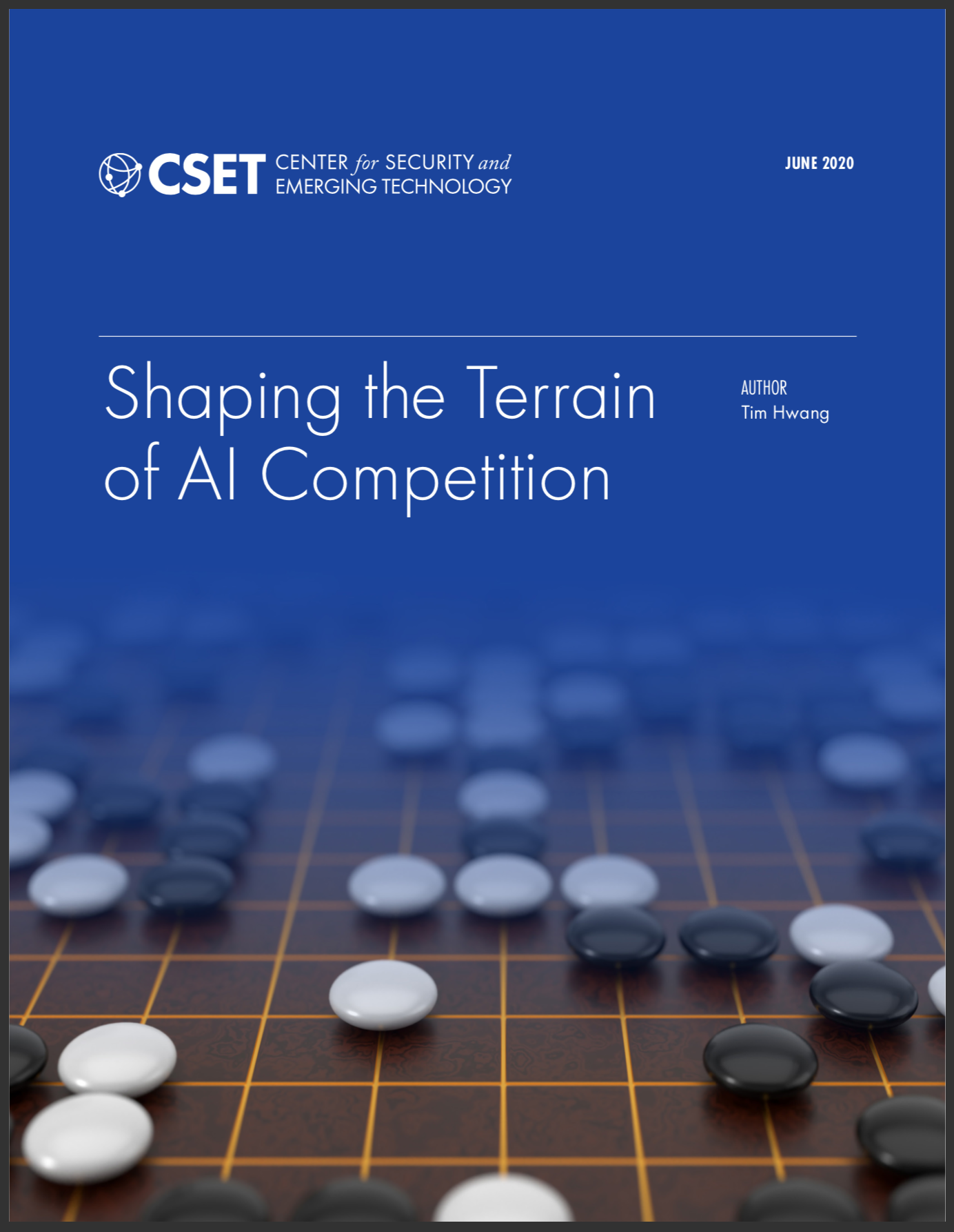 Shaping the Terrain of AI Competition Report Cover