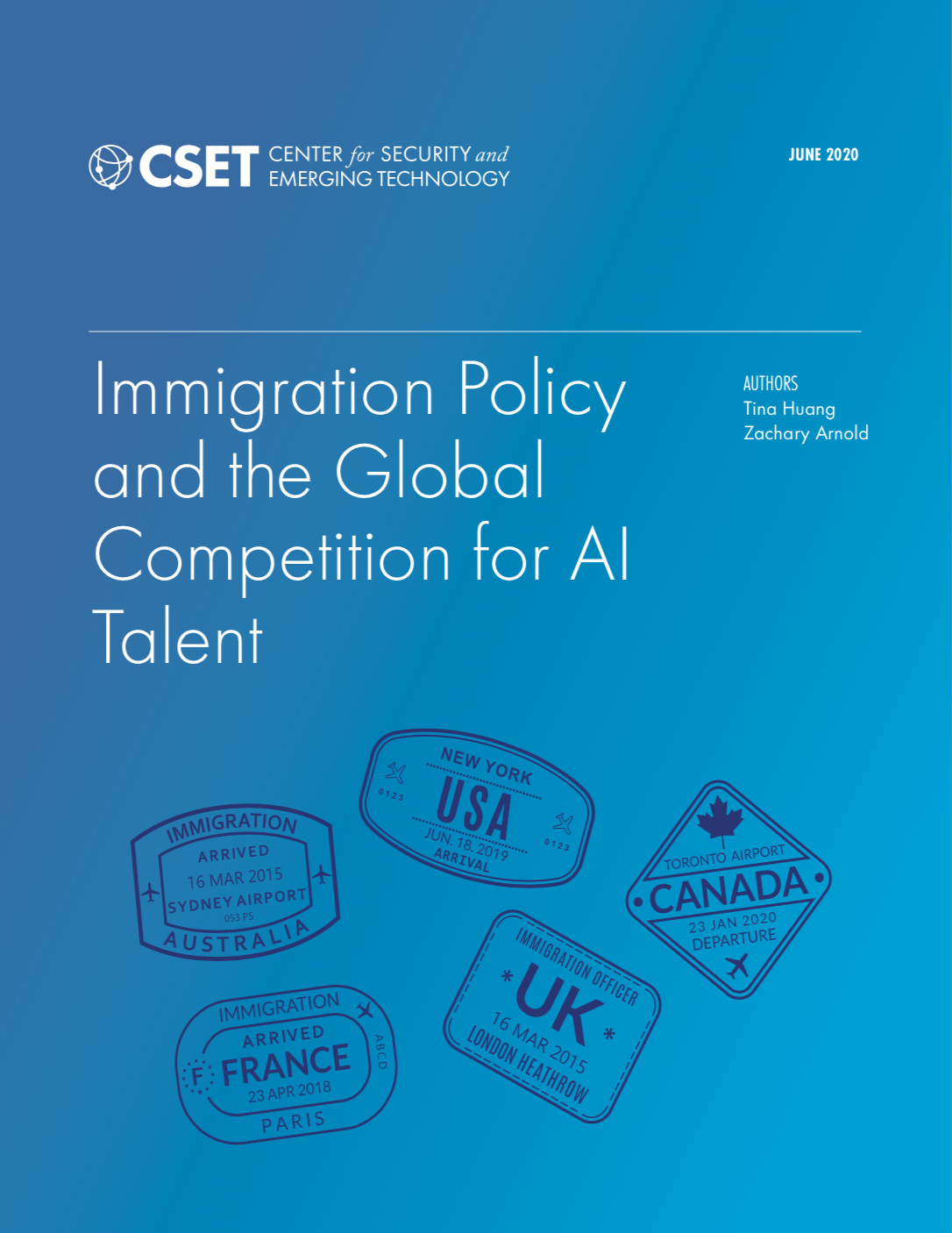 Immigration Policy Report Cover