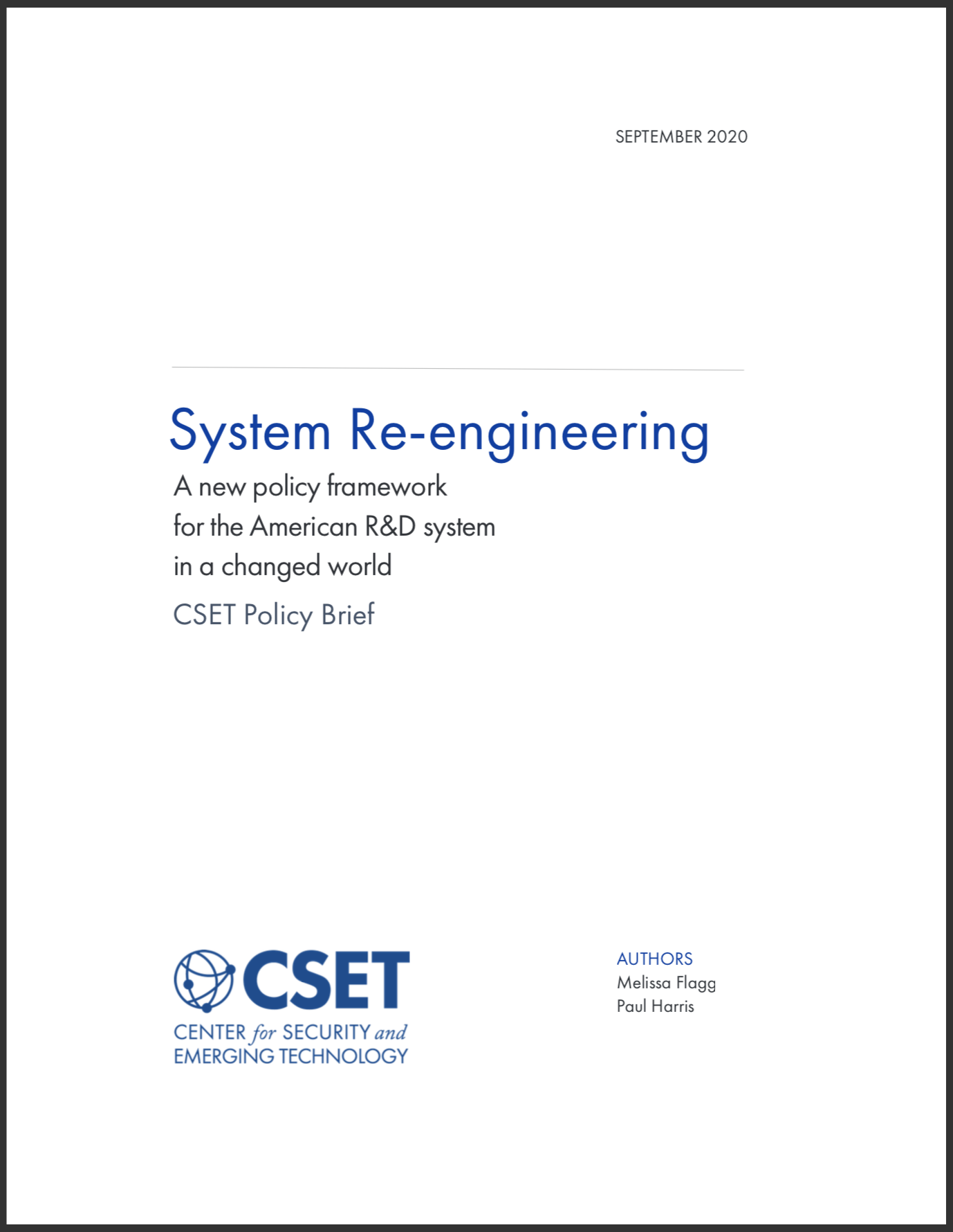 Systems Re-engineering